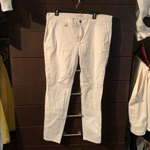 Zara Man white dress pants